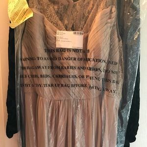 Dresses & Skirts - Belsoie by jasmine size 22 in latte.